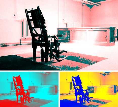 Electric Chair image via Guardian UK