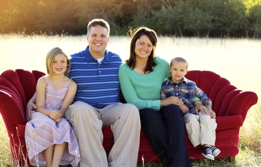 Dr. Nathan Holt (with his wife and two children) Corner Canyon Dentistry Draper, UT