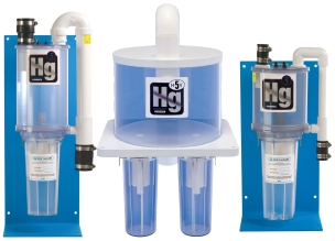 SolmeteX® Hg5® Series features  amalgam separation options, available at benco.com