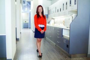 With its high ceilings, modish LED lighting and modular art walls, the San Diego practice of Dr. Kathrina Agatep (Dental Design SD), a Benco Dental customer, might be mistaken for a gallery in the city's fashionable North Park district.