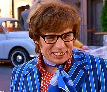 Despite his poor oral hygiene, Mike Myers as Austin Powers, International Man of Mystery, never lacked a date.