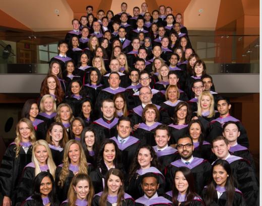 Shown, 107 students graduate from Rutgers School of Dental Medicine.  (Photo courtesy NJ.com)
