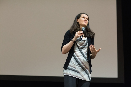 "At the Lucy Hobbs Project 2nd annual celebration in 2014, New York Times best-selling author Liz Murray, subject of the movie ""From Homeless to Harvard"", elevated attendees with her keynote speech from the depths of despair to the endless possibilities the future holds."