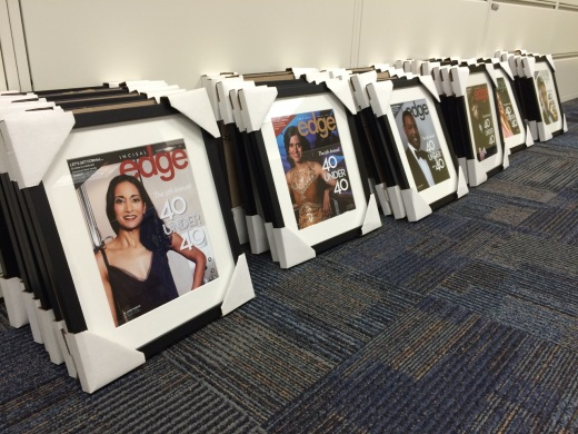2015 Incisal Edge 40 Under 40 honorees, cover models one and all.