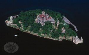 Boldt Castle, Alexandria Bay, NY in the heart of the 1000 Islands.