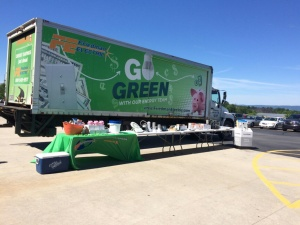 Friedman Electric's Go Green team visits associates at the home office of Benco Dental, the nation's largest privately owned dental distributor on June 10.