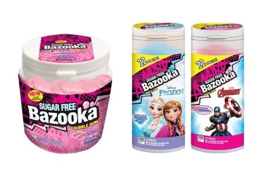 Bazooka Sugar Free (PRNewsFoto/Bazooka Candy Brands)