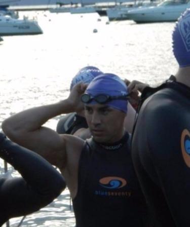 Image of Mark J Broomhead in Swim Gear | thedailyfloss.com