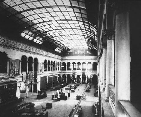 INTERIOR Woman's Building at the World's Columbian Exposition, Chicago, 1893 larger view