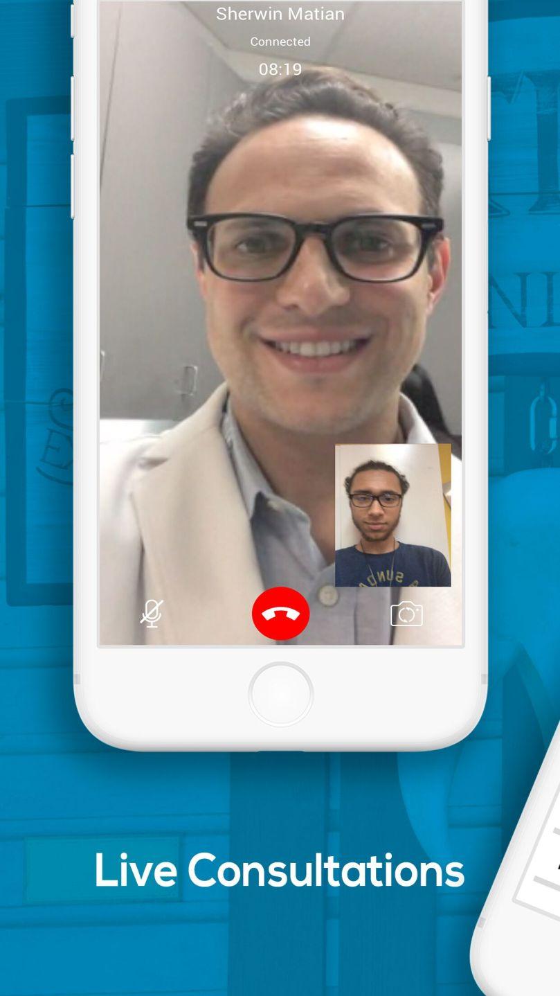 Dr  Arash Hakhamian's dental app delivers care at a hospital room