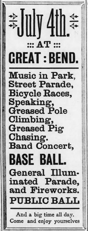 July-4-at-Great-Bend.-Events.-The-Great-Bend-Weekly-Tribune-of-Great-Bend-Kansas-on-June-21-1895