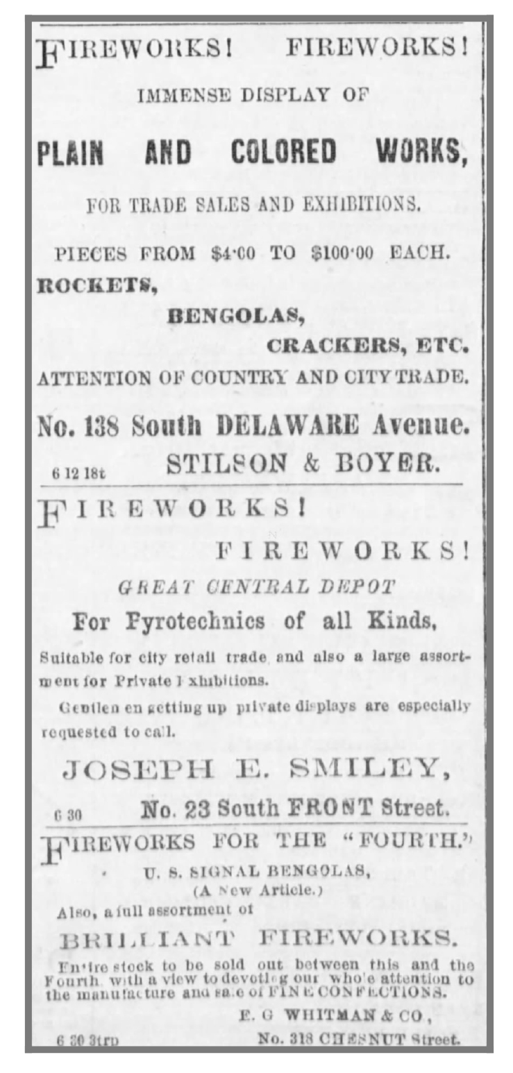 fireworks_ad_Phila_1866 - Newspapers.com