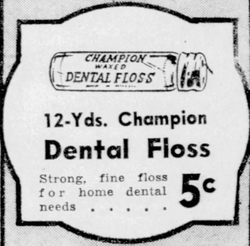 Champion_Dental_floss - Newspapers.com